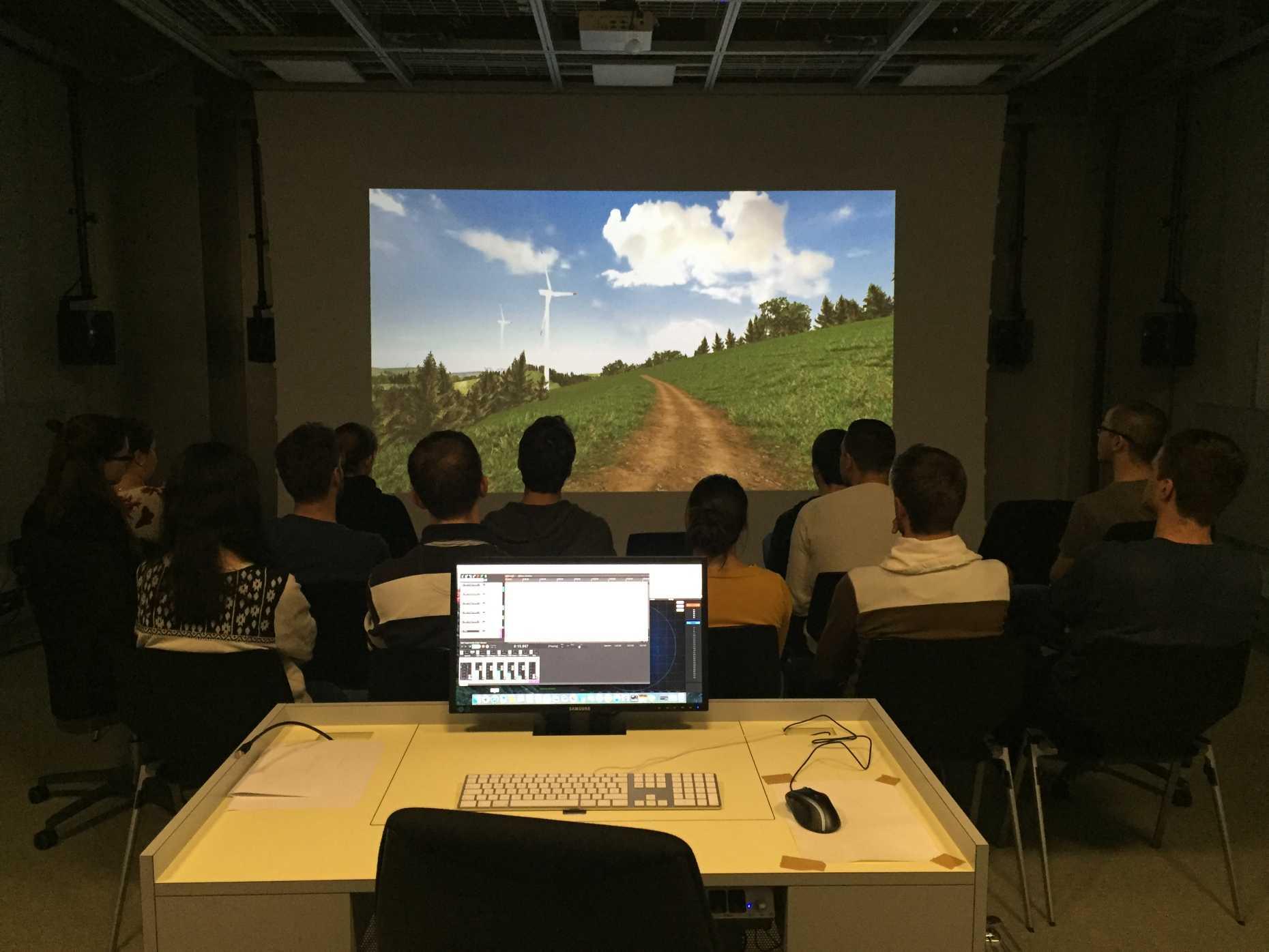 Audiovisual lab planning of landscape and urban systems plus main content toneelgroepblik Images